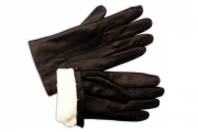 Luxury Lapin Black Men's Gloves