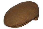Classic Plain Camel Flat Cap