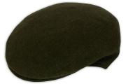Classic Plain Olive Flat Cap