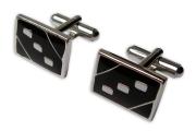 Silver Rectangle Cufflinks