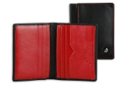 Small Red Men's Card Holder