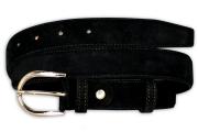 Stitched Black Men's Belt 3cm