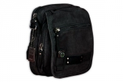 Tough Black Shoulder Bag
