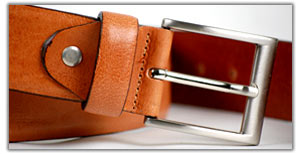 Quality Italian leather men's belt